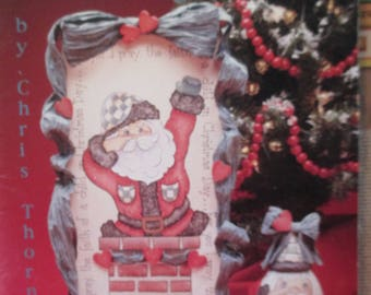 """Decorative used good condition 1993 painting book  Susan Scheewe presents  """" Christmas Blessings"""" tole painting how to 84 pages"""