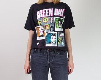 Vtg Green Day oversized tour t-shirt