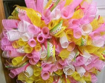 Spring or Mother's Day Wreath