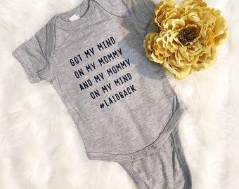 Custom Baby Onesie - Baby Onesie Funny - Baby Onesie Personalized - Baby Onesie Custom - Baby Onesie Announcement - Baby Bodysuit - Onesie