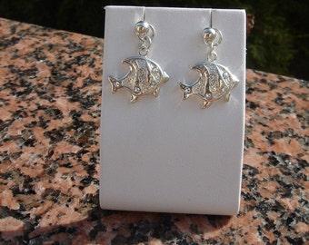 925 silverfish earrings! Very sweet!