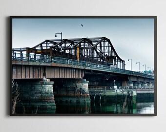 """Boston """"Railroad bridge"""""""