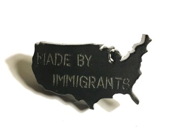 Made By Immigrants Limited Edition Lapel Pin / Made in USA
