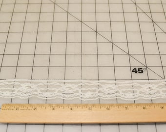 Vintage Lace, Narrow, Off White, 10 and 7/8 Yards
