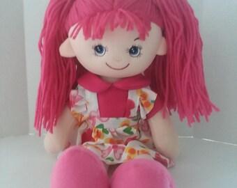 Emma the Soft Doll Rag Doll
