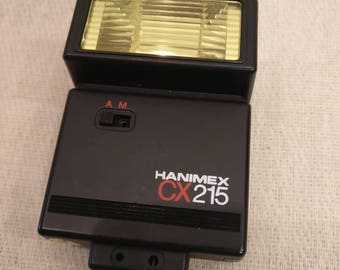 Hanimex CX215 Flash, Flashgun, boxed with instructions