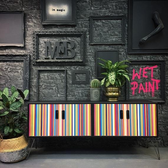 Gplan mid century Gplan sideboard stripes