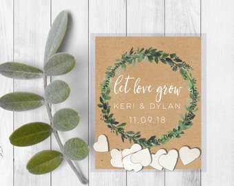Wedding seed packets-Wedding seed favors-let love grow wedding favors-plantable seed paper-plantable wedding favors-seed bomb favors-seed