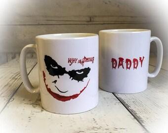 Personalised Joker Theme Mug - Batman The Dark Knight - GIFT MUG