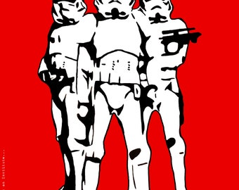 Storm Troopers Art Print