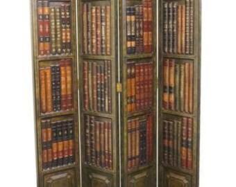 High End 48″ Book Facade Screen