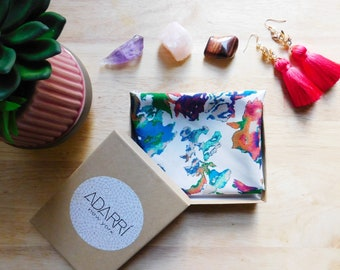 Silk like Scarf / Square Scarf / Silk Handfeel / Scarf / Neck Scarf Square Scarf  / Floral Scarf / FREE SHIPPING in us