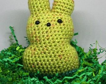 Crochet Bunny Peep Amigurumi