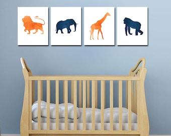Jungle Baby Shower Decorations - Lion Nursery - Safari Animal Nursery Decor - Jungle Nursery - Safari Baby Shower - Jungle Animals - Safari