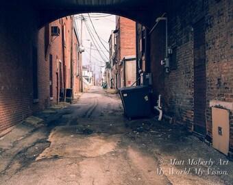 Fine Art Photography Print Alley
