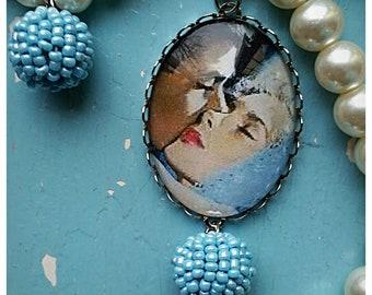 Necklace Vintage Romance