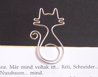 Mirr-Murr - cat wire bookmark
