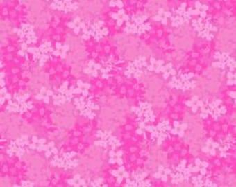 SALE!!! Eva's Bloom Fuchsia from David Textiles, 100 % cotton, Quilting, Fabrics, Sewing