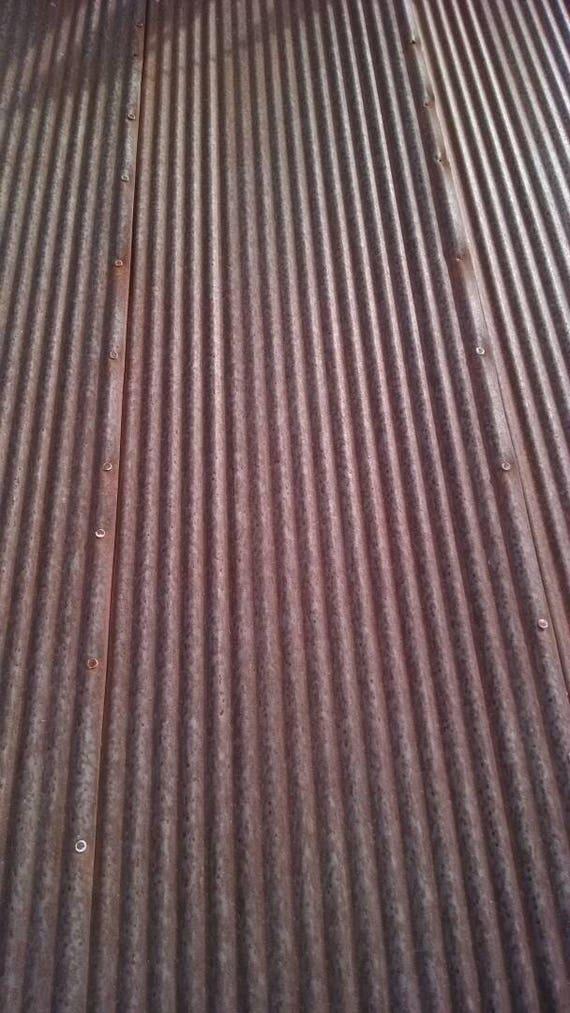 Reclaimed Corrugated Metal Roofing Barn Rusty Tin Beautiful