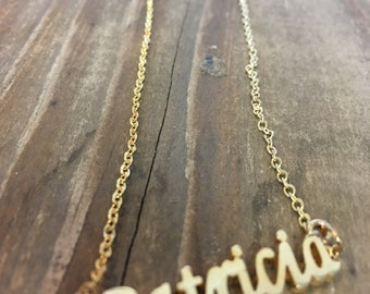 Patricia Necklace in Gold or Silver