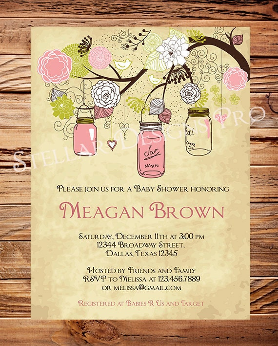 items similar to vintage baby shower invitation vintage