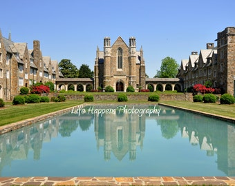 Photography.  Berry College.  Water.  Reflection pool.