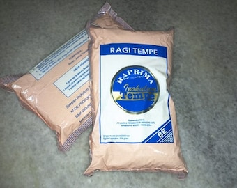 500 Gram Tempeh Starter Yeast Ragi Inokulum RAPRIMA Rhizopus Oligosporus How To Make Indonesian Homemade Tempe Indonesia