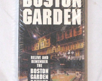 The Official History of the Boston Garden 1928 - 1995 [VHS 1994] NEW
