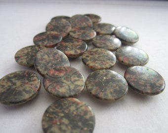Vintage Round Composition Buttons Lot of 19