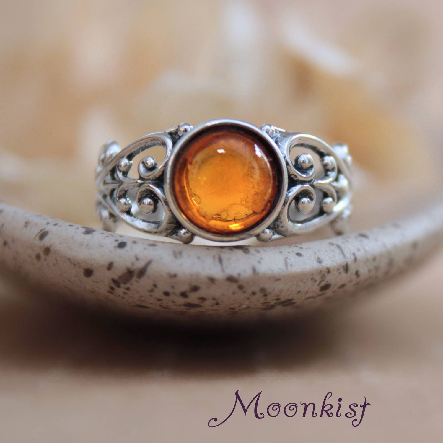 products engagement gimp ring p big stone crystal ivvy rings amber
