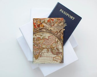 Marble passport cover passport holder map case personalized leather passport wallet passport cover holder travel passport holder passport sleeve wallet map world vintage design gumiabroncs Image collections
