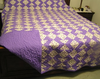 Extra long king size quilt