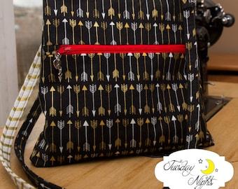 Vivian small Crossbody Purse Bag  Sewing Pattern PDF