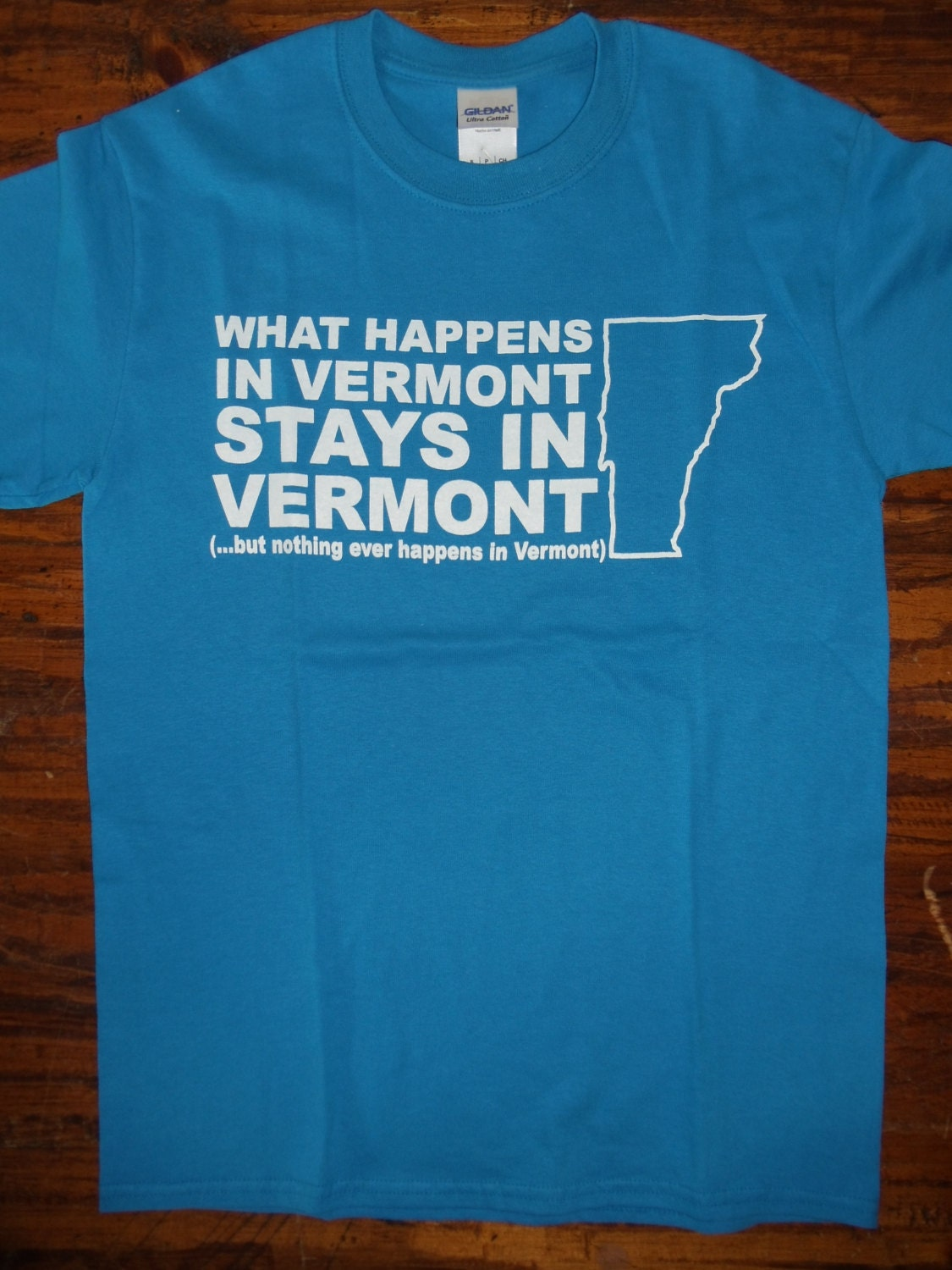 Vermont What Happens in Vermont Stays in Vermont T-Shirt but