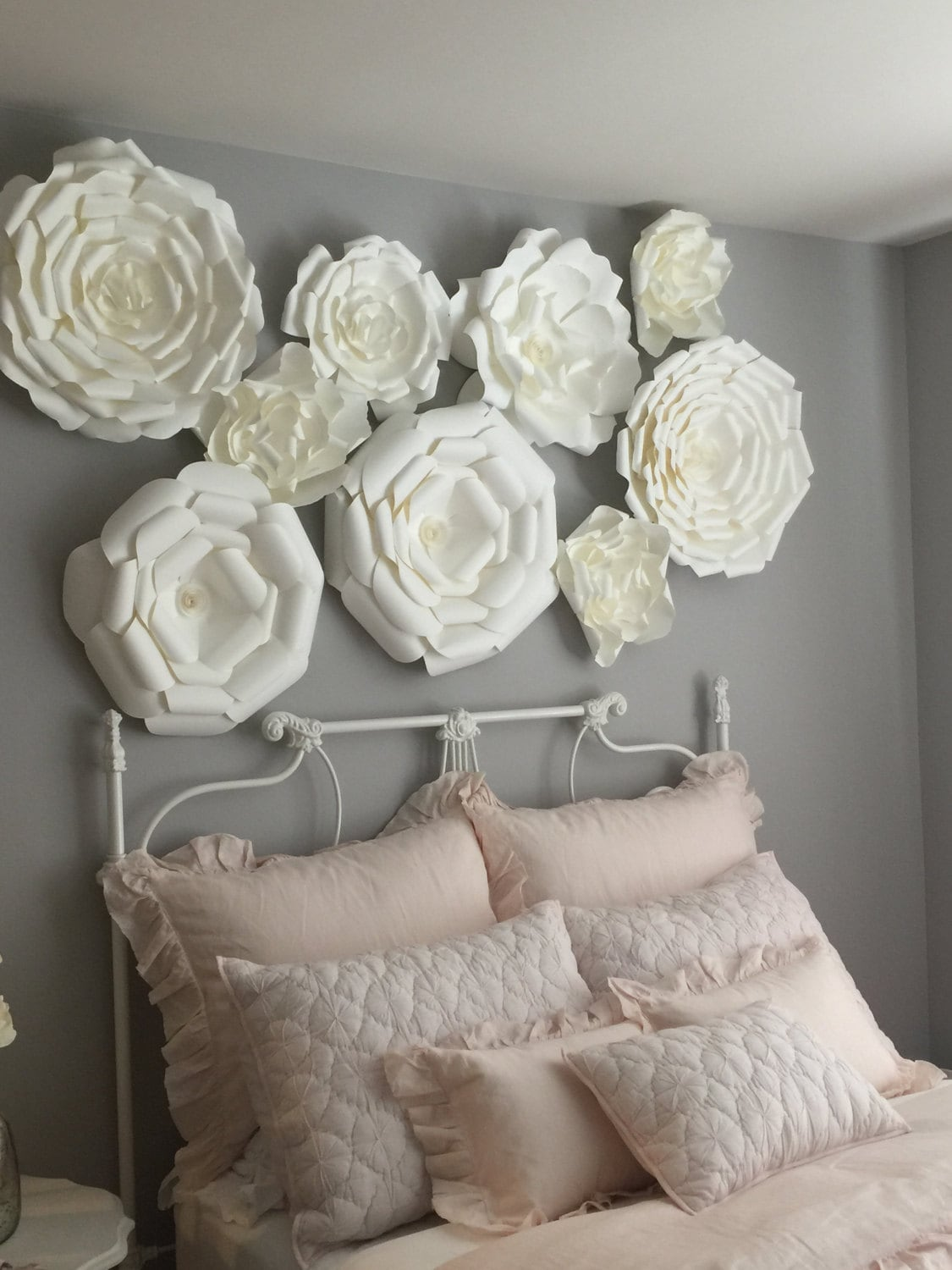 3x3ft Paper Flower Backdrop Giant Paper Flowers Wall Paper