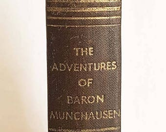 The Adventures Of Baron Munchausen Book Illustrated By Gustave Dore