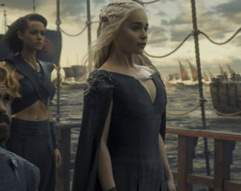 Custom Made Daenerys Targaryen Dragonscale costume Dress Gown