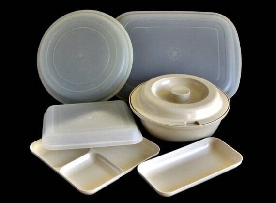 Like this item? & Tupperware Ultra 21 Bowl 1545 Divided Plate 1659 Inidual