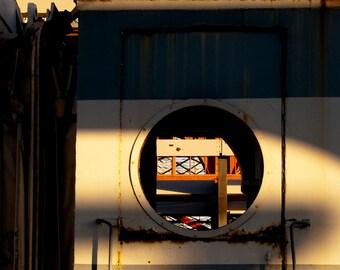 Rusty Train 5x5 Photograph