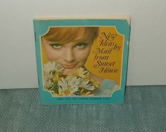 Vintage 1960s or 1970s SUNSET HOUSE Mail Order Catalog-Beverly Hills CA-Weird Stuff for Sale!-Free Shipping!