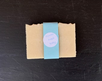 Powder Fresh Baby Handmade Natural Baby Soap