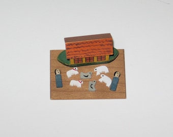 Miniature Noah's Ark - 1/12th scale