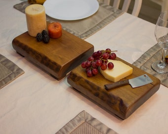 Small walnut cheese board. Price is for 1 board.