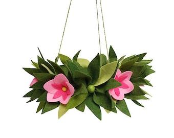 Hawaiian Flower Mobile - Felt - Mobile - Handmade