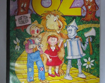 Giant Wizard of Oz Coloring Book