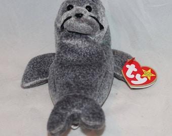 Ty Beanie baby seal Slippery