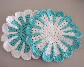 Crocheted Spa Day Facecloth