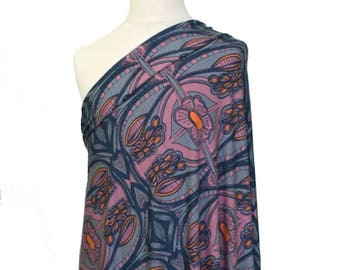 Modal Jersey Knit Fabric Lillestoff Autumn Berry by the Metre