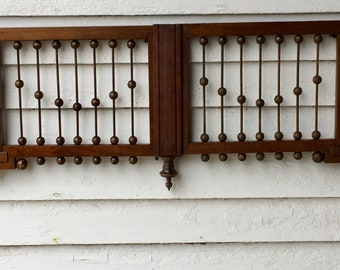 Walnut Victorian Fretwork