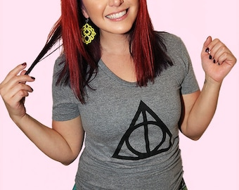 Wizard Symbol.  American Apparel women't fitted tshirt. Sizes small to XL